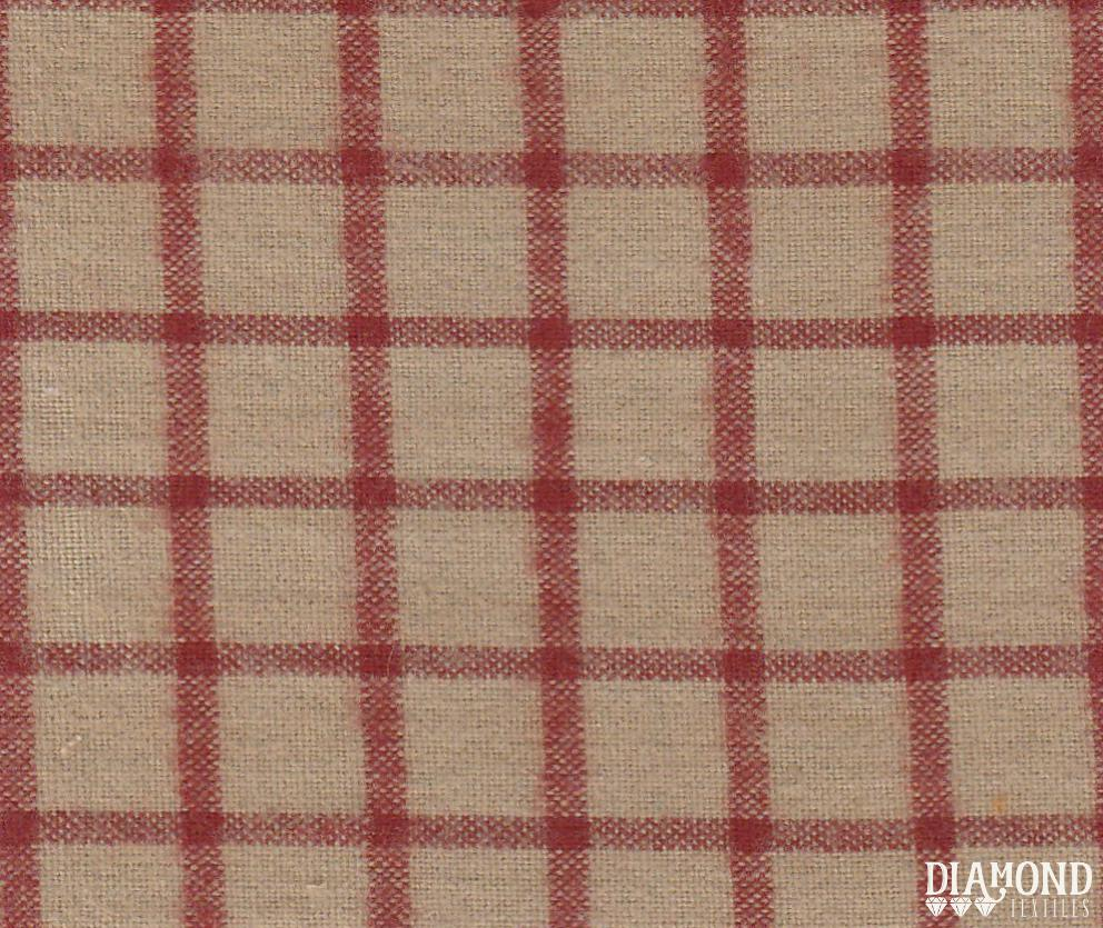 Chatsworth Barn Red Brushed Cotton CHATS-2804