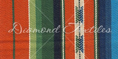 colorful striped home deco fabrics